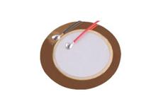 陶瓷蜂鳴片 直徑27mm 頻率4.5KHz 3B27+4.5EAWK