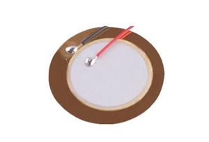 陶瓷蜂鸣片 直径18mm 频率5.0KHz 3B18+5.0EAW