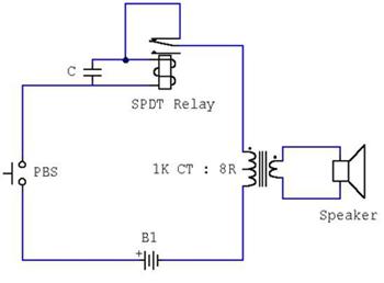 壓電蜂鳴器與小型蜂鳴器制作原理圖