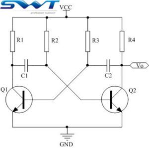 无源蜂鸣器驱动电路改进(图为三极管多谐振荡电路)